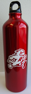 Ripon water bottle R with mascot
