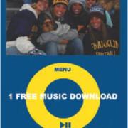 Sample Music Download Card