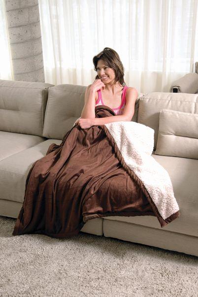 Warm Microboa Sherpa Blanket