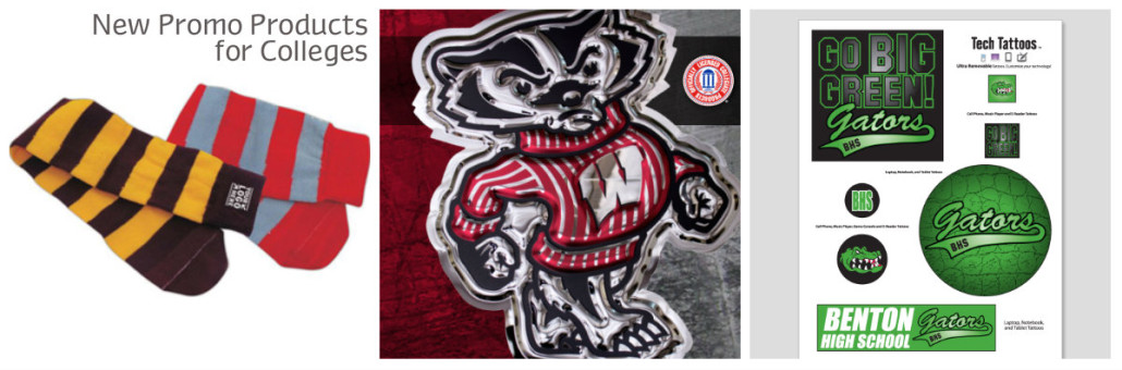 2015 top new promotional products for colleges