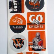 design your own sticker sheet