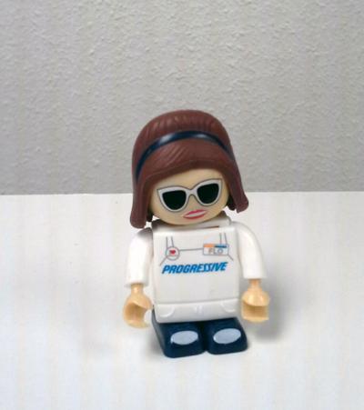 LEGO mascot sample