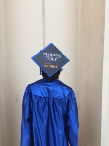 Florida Poly Tassel Topper