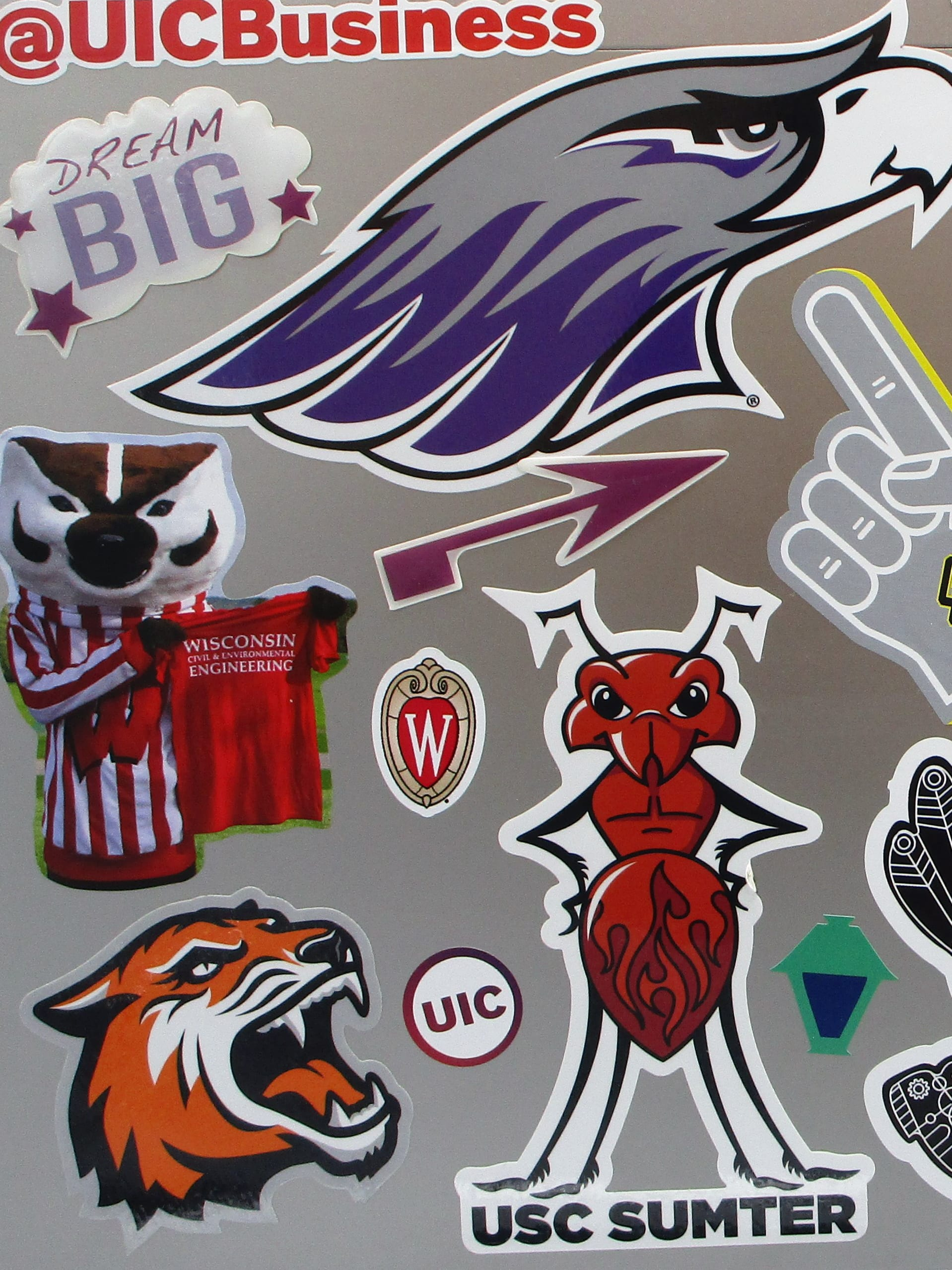 Custom stickers designed by magellan promotions